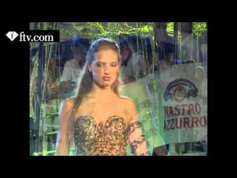 Miss FTV Sardinia on F Diamond 2007 WITH  MICHEL ADAM