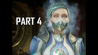 MORTAL KOMBAT 11 Walkthrough Part 4 - Sub-Zero & Frost (MK11 Story Let's Play Commentary)