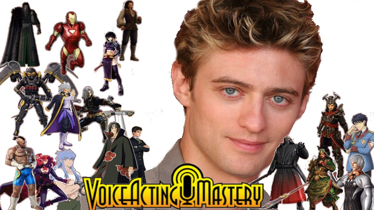"""The Many Voices of """"Crispin Freeman"""" In Video Games - YouTube   Crispin Freeman Characters"""