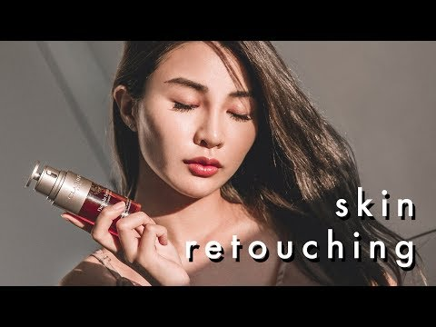 Skin Retouching Photoshop Tutorial - Using Atsuna Actions