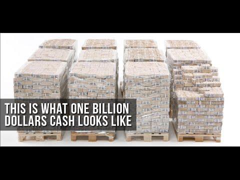 How much is one billion dollars (1 Billion $) - YouTube