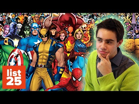 Download Top 25 Most Powerful Marvel Comic Characters MP3