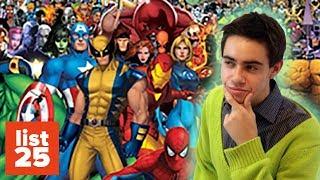 25 En Güçlü Marvel Karakteri