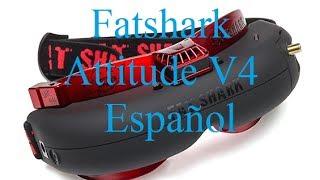 fatshark attitude v4 Unboxing en Español