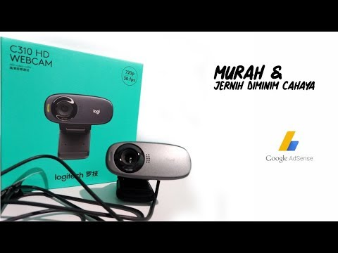 Live Streaming OBS With Webcam Logitech C310