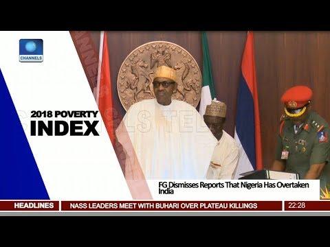 FG Dismisses Report That Nigeria Has Overtaken India On Poverty Level Pt.2  News@10  27/06/18