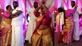Robo Shankar 15th Wedding Anniversary Tik Tok Videos | Robo Shankar Daughter & Wife Dance Video