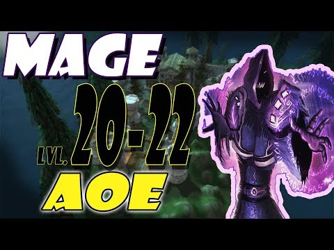 Classic WoW Mage AoE Leveling Guide: 20-22 - Silverpine Forest (HORDE)