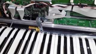 roland xv 88 key repair diy