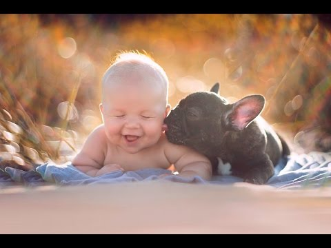 Image result for puppy and child