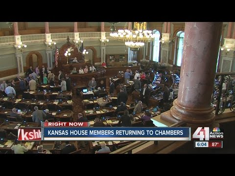 Kansas House working to resolve state budget