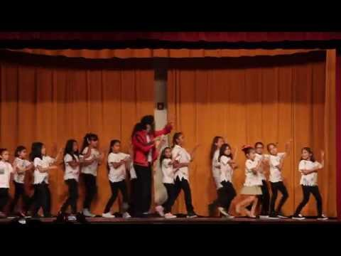 Michael Jackson Performance - Hawthorne Academy