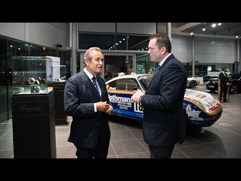 Porsche Club members' evening with Jacky Ickx