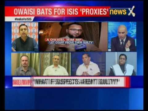 Nation At 9: 72 hours after Hyderabad ISIS raid, Asaduddin Owaisi bats for ISIS' proxies