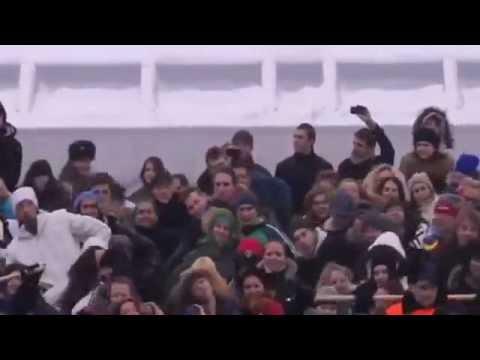 Видео: Нереально классный флешмоб 26 02 12 на Воробьевых горах
