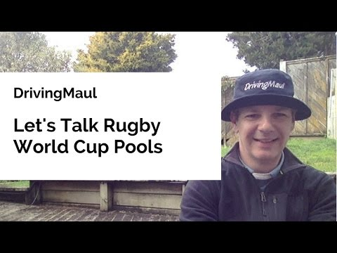 Let's Talk Rugby World Cup Pools