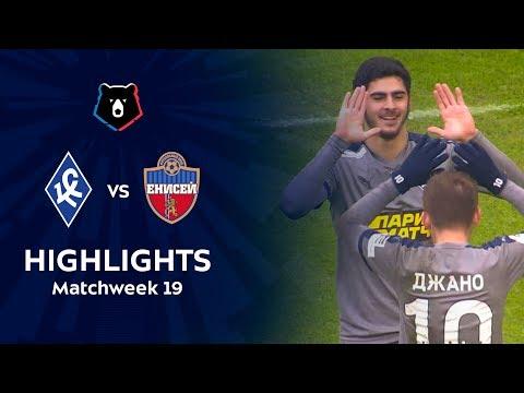 Highlights Krylia Sovetov Vs FC Enisey (4-0)