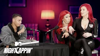 Justina Valentine's Twin Sister, 'Mustina' Reveals All  👀 Night Cappin' w/ Royce Bell | Wild 'N Out