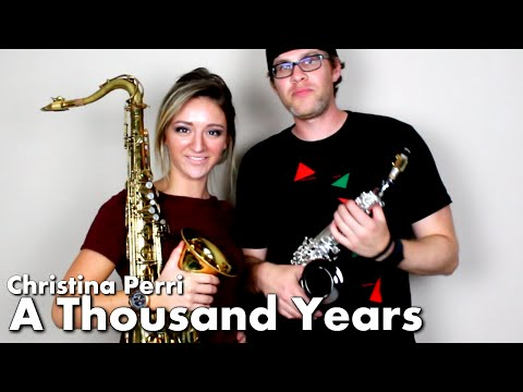Christina Perri - A THOUSAND YEARS - Tenor & Soprano Sax Cover - BriansThing & Mandy Faddis
