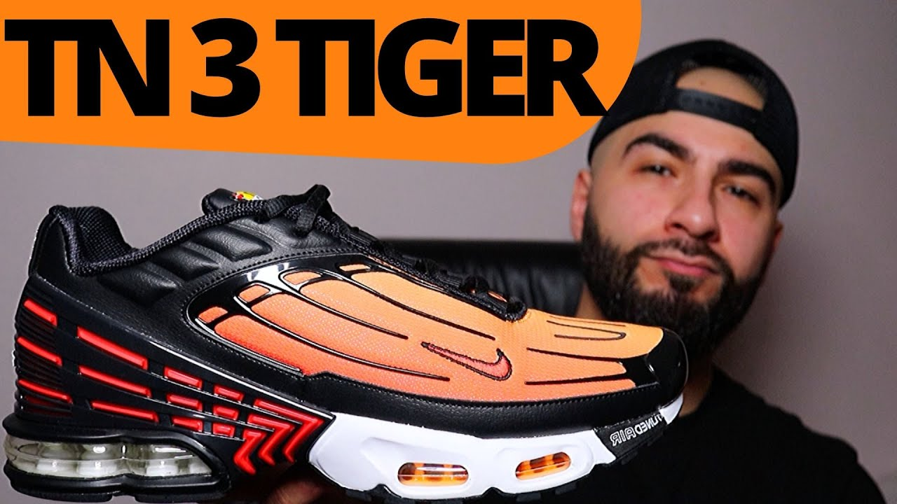 Especificado cera tornillo  BETTER THAN THE OG? Nike TN AIR MAX PLUS 3 TIGER / PIMENTO Review - YouTube