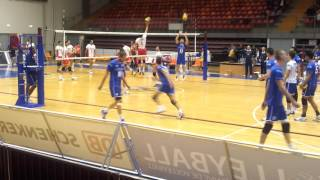 Download Video France Volleyball Mens warm up MP3 3GP MP4