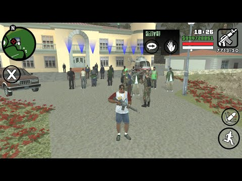 All Protection With VIP House Mod For Gta Sa Android
