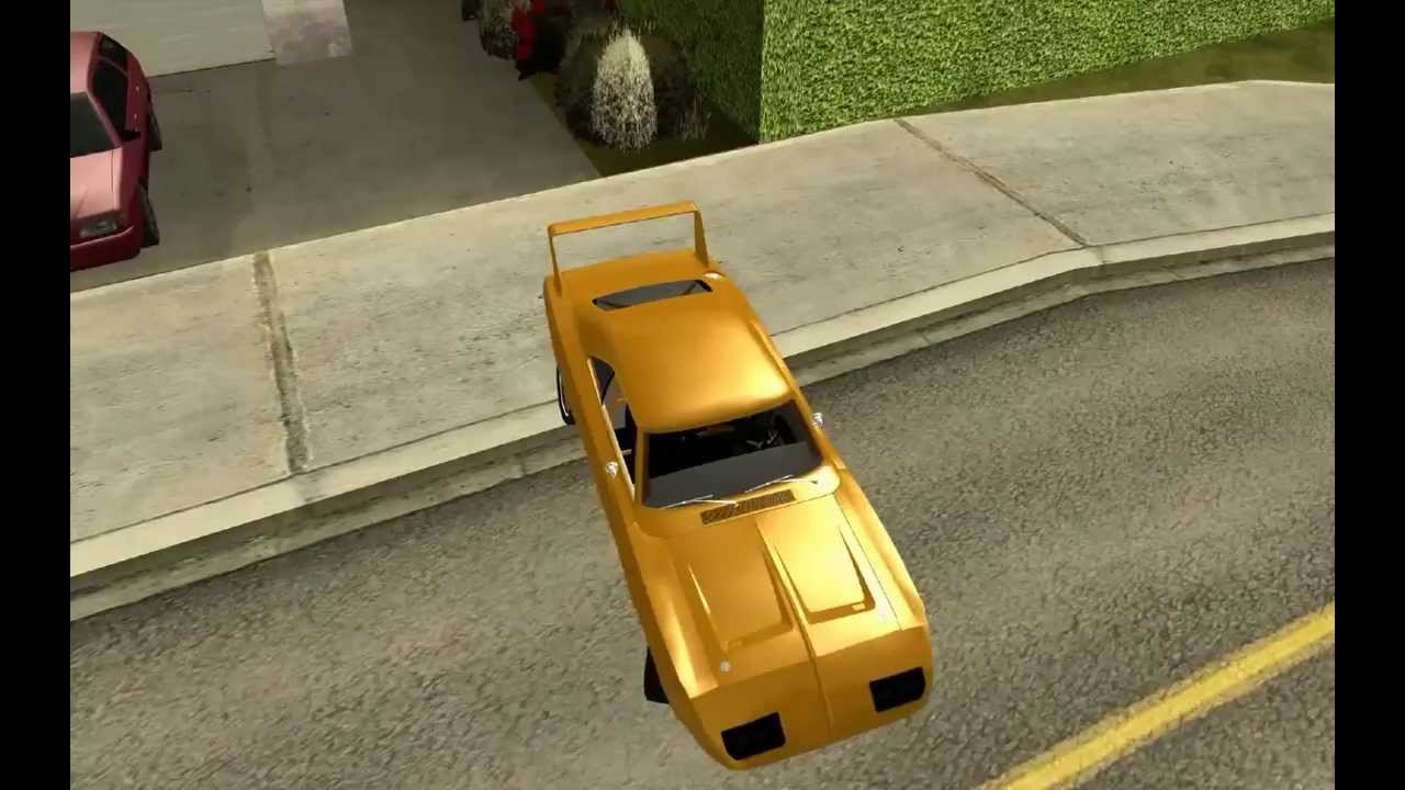 1969 dodge daytona charger fast and furious 6 gta san andreas 144 new car series hd - Dodge Charger 1969 Fast And Furious 6