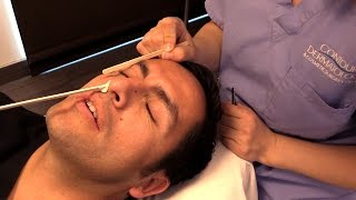 Repeat youtube video Victor's Trip to Contour Dermatology's Spa! Men Need Waxing Too!