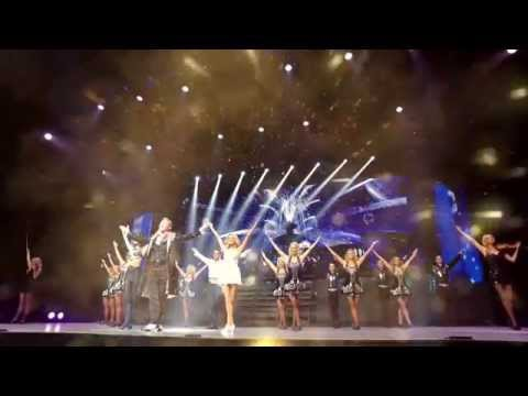 Michael Flatley performing Victory at the Lyric Theatre Broadway