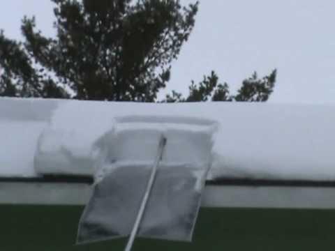 The Minnsnowta Titan Roof Razor 174 In Action Youtube