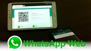 Whatsapp Web en Tablets Android