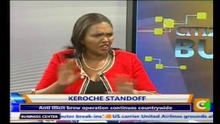 Business Centre: Keroche Breweries Stand off