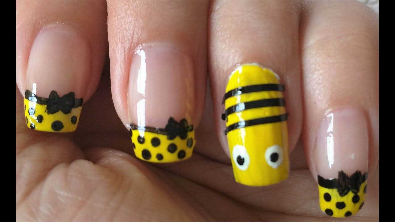 Bee Nail Art Ars Arts Designs