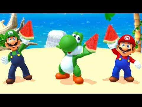 Mario Party 10 - Amiibo Party - Yoshi Board