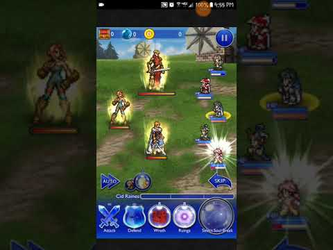 FFRK FFT 'A Sword for Peace' RENEWAL - Battle Beneath the Wind (Ultimate ++)   Wiegraf