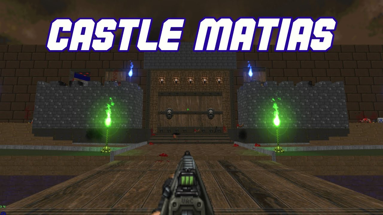Castle Matias | My new Doom MAP / WAD [DOWNLOAD] [for BDLite]