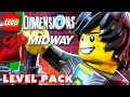 MIDWAY ARCADE Level Pack! LEGO Dimensions - Gameplay Walkthrough Part 21 (PS4, Xbox One)