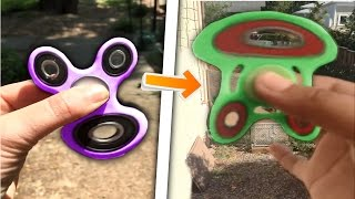 i can make fidget spinners warp like crazy..