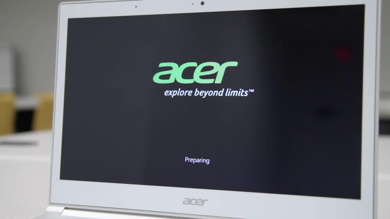 windows 8 acer factory reset