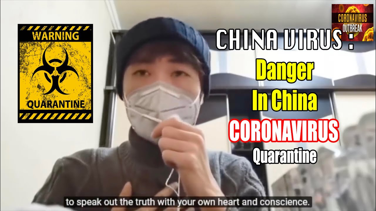 CHINA VIRUS : DANGEROUS Conditions Inside China, Worse than SARS - Coronavirus