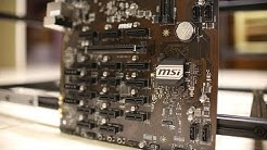 MSI has a Crypto Mining Motherboard?