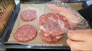 Ağzınız suyu akacak garantili bir lezzet 🤤 Hamburger köftesi 😍