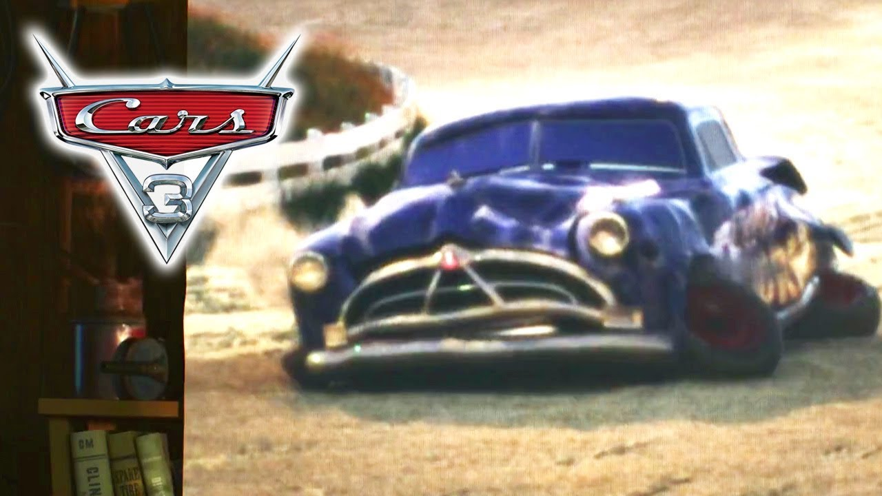 Hudson Hornet Crash - CARS 3 (1080p) - YouTube