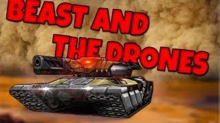 Tanki Online LP #134 / ყველაზე მამალი კომბო და უძლიერესი დრონი