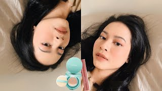 My mager makeup routine with only 2 products!