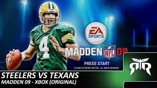Steelers vs. Texans - Madden NFL 09 (Original Xbox)