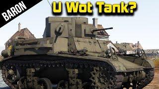 War Thunder - U Wot?  Funniest Tank Ever!