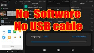 How to Wirelessly Transfer Files from Android to PC without third party software screenshot 5