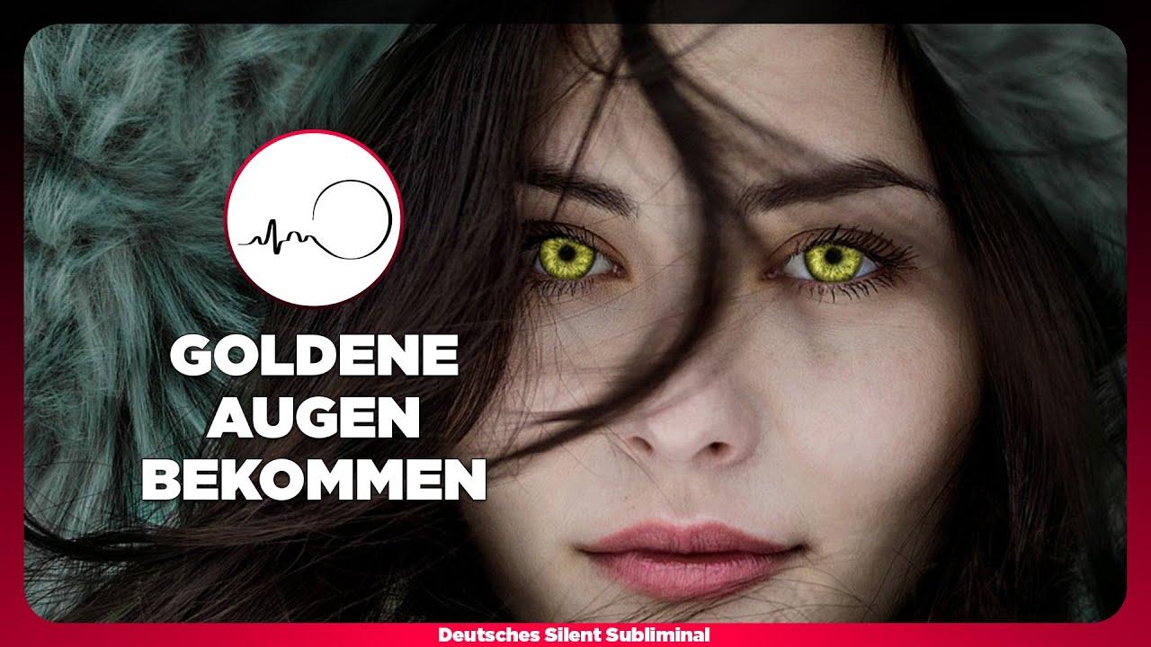 Goldene Augenfarbe
