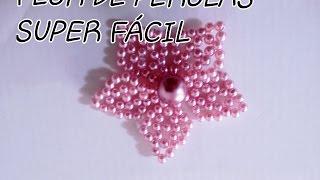 FLOR DE PÉROLAS SUPER FÁCIL